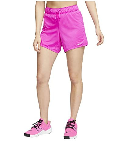 Nike Dry Shorts Attack 2.0 TR 5 (Fire Pink/White) Women
