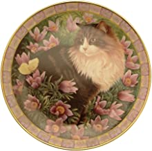 Lesley Anne Ivory Cats Among The Flowers Simpkin in Pasque Flowers GB283