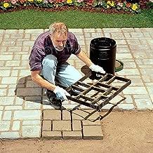 2DXuixsh Garden Walk Pavement Mold Concrete Mould DIY Manually Paving Cement Brick Stone Road Molds Pathmate Moulds