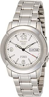 SEIKO Men's Automatic Watch, Analog Display and Stainless Steel Strap SNKE57J1