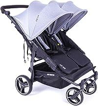 Baby monsters silla de paseo gemelar color gris