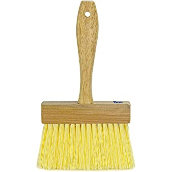 Bon Tool 84-141 6-Inch by 7/8-Inch Wallpaper Paste Applicator Brush with Wood Handle