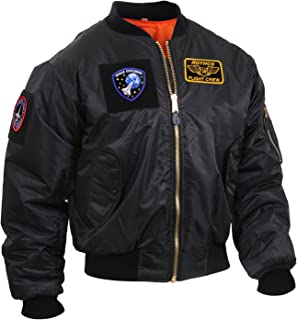Rothco MA-1 Flight Jacket with Patches