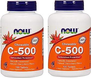 Now Foods Chewable C-500, Cherry-Berry Flavor