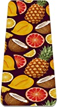 Yoga Mat - fruit kokos watermeloen sap - Extra dikke antislip oefening & fitness mat voor alle soorten yoga, pilates & vlo...