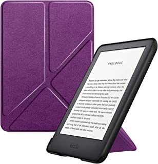 MoKo Case Fits All-New Kindle (10th Generation - 2019 Release Only), Standing Origami Shell Cover with Auto Wake/Sleep, Wi...