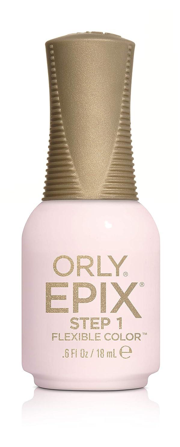 同行してはいけない水素Orly Epix Flexible Color Lacquer - Hollywood Ending - 0.6oz / 18ml