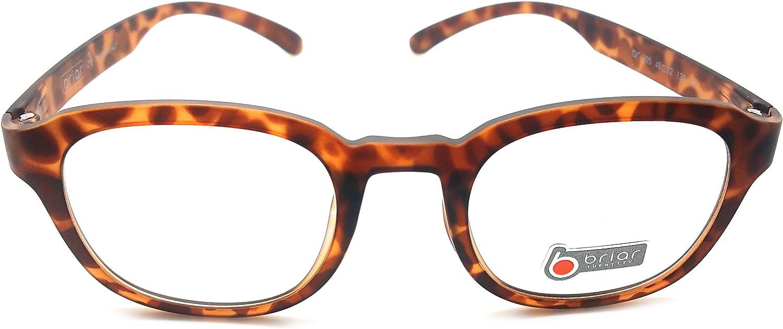 Briar Prescription Eye Glasses Frame Ultem Super Light, Flexible Br 305 C7