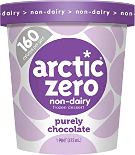 Arctic Zero, Non-Dairy Desserts, Purely Chocolate, 16 oz (Frozen)
