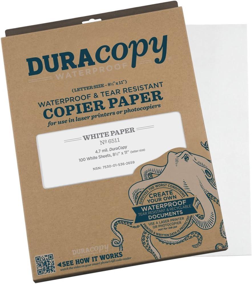 free Overseas parallel import regular item shipping Rite in the Rain Waterproof DURARITE Copier x 8 1 11 Paper 2