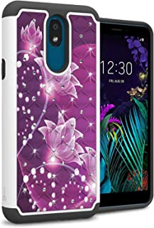 CoverON Hybrid Bling Aurora Series Case for LG Escape Plus/LG Arena 2 / LG Tribute Royal/LG Journey LTE/LG K30 2019 Multi-...