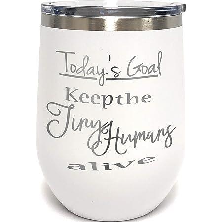Be a Nice Human Wine Tumbler