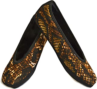 NuFoot Ballet Flats Women's Shoes, Best Foldable & Flexible Flats, Slipper Socks, Travel Slippers & Exercise Shoes, Dance ...
