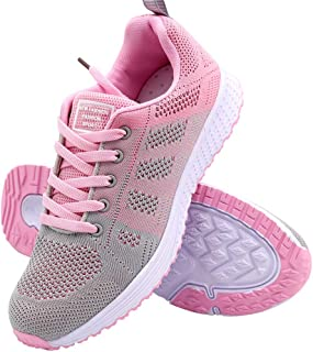 aogula Women's Athletic Sport Walking Shoes Lightweight Breathable Mesh Running Sneakers for Gym Travel Work