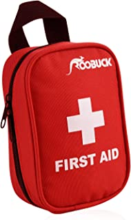 First Aid Kit for Hiking, Backpacking, Camping, Travel, Car & Cycling. with Waterproof Laminate Bags You Protect Your Supp...