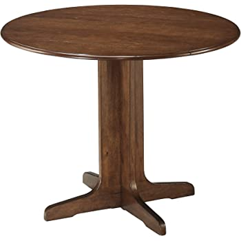 30-Inch International Concepts 30-Inch Round Pedestal Table Espresso