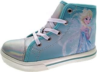 Frozen Girls Hi Top Trainers Sneakers