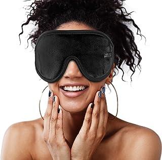 Sleep Mask for Women and Men – Super Comfortable for Sleeping Travel Naps – 3D Contoured Sleeping Mask Blocks Light 100% –...