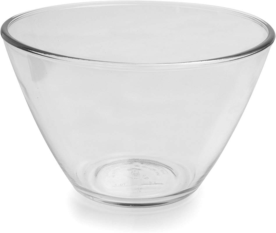 Anchor Hocking Splashproof Glass Mixing Bowls 3 Quart Set Of 2