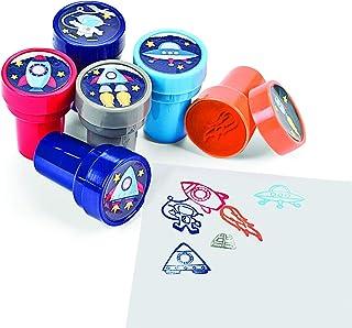 Make-A-Spaceship Stampers, Teacher Resources & Stampers & Stamp Pads, 4 packs of 6