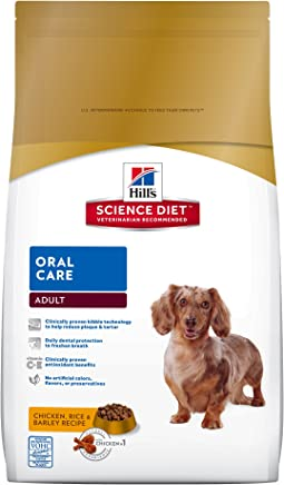 Hill's Science Diet Adult Oral Care Dog Food