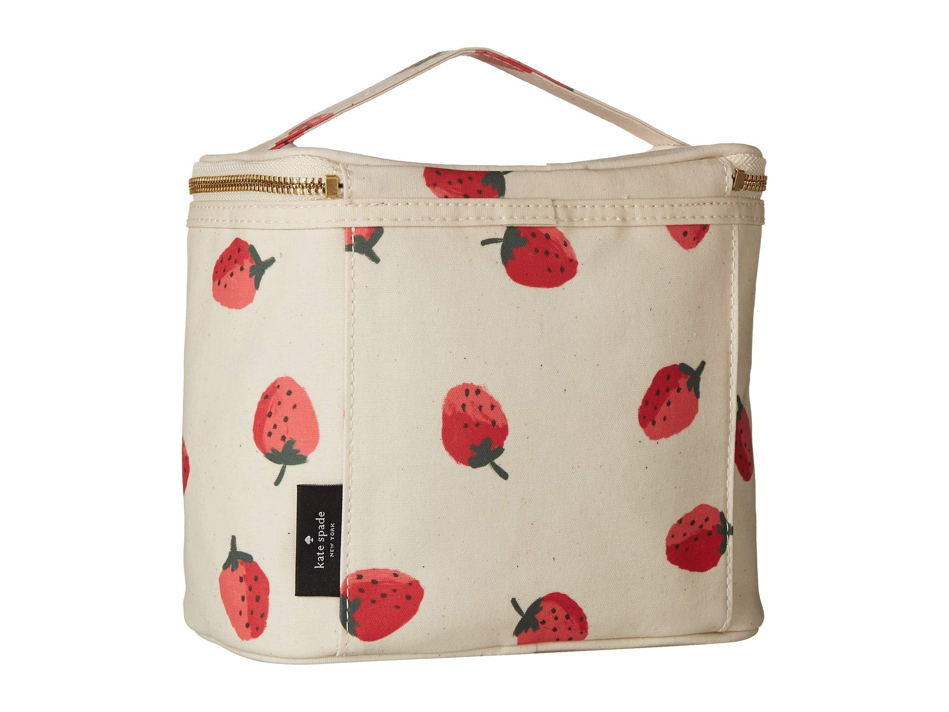 New Spade Tote Strawberries York Kate Lunch Multi Cfqw5ZZ4