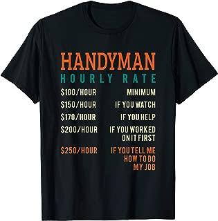 handyman hourly rate