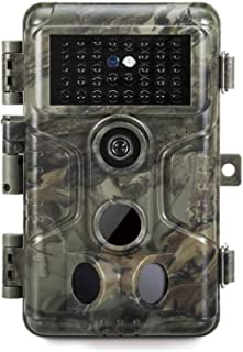 GardePro A3 Trail Camera (2020), 20MP, 1080P H.264 HD Video, Clear 100ft No Glow Infrared Night Vision, 0.1s Trigger Speed...