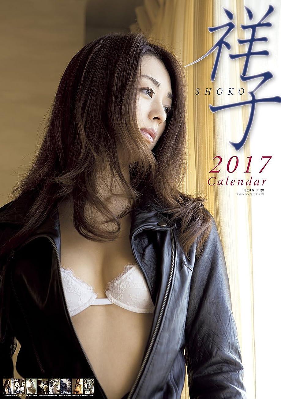 脊椎選択する日焼け祥子 2017年 カレンダー 壁掛け B2 CL-223