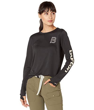 Burton Multipath Long Sleeve T-Shirt (True Black) Women