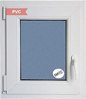 comprar comparacion Ventana PVC Practicable Oscilobatiente Izquierda 500 ancho x 600 alto 1 hoja con vidrio Carglass (Climalit Mate)