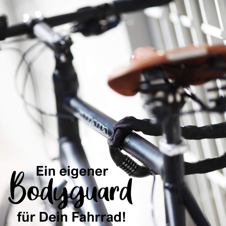 Sportastisch Top¹ Candado de bicicleta Heavy Lock | Cerradura bici ...