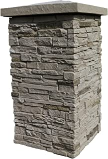 Best faux stacked stone columns Reviews