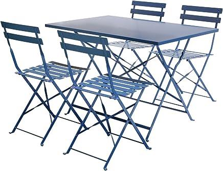 Amazon.fr : table pliante jardin metal : Cuisine & Maison
