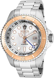 Men's 16964 Reserve Hydromax Analog-Display Swiss Quartz Silver-Tone Watch