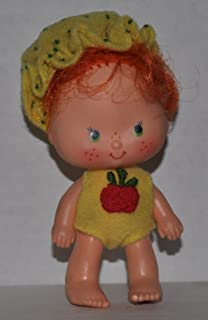 Vintage Apple Dumplin' (1979) (Doll, Hat, Outfit) - Strawberry Shortcake (Retired) Doll - Collectible Replacement Toy - Loose (OOP Out of Package & Print)