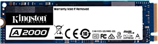 Kingston SSD A2000 250GB M.2 2280 NVMe PCIe 3D TLC NAND DRAMキャッシュ搭載 SA2000M8/250G 正規代理店保証品 5年保証