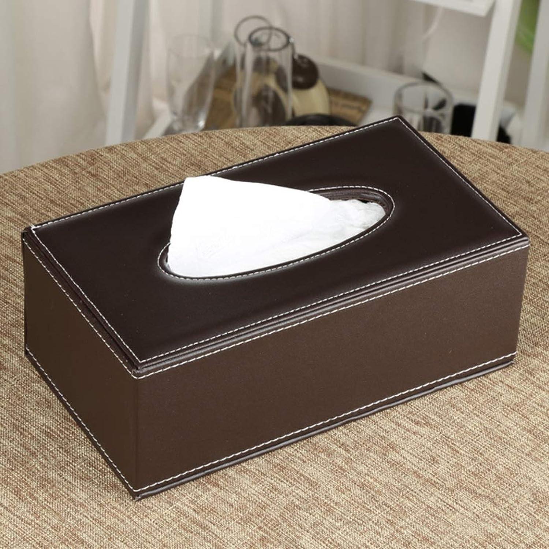 Mkulxina Mkulxina Mkulxina Kauf PU Leder Tissue Cover Box Fall Halter für Home Office Auto Automotive Fernbedienung Organizer (Farbe   Coffee Farbe A002) B07PSFM4VF 63b847