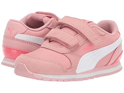 Puma Kids ST Runner v2 NL V (Toddler) (Bridal Rose/PUMA White/Calypso) Girls Shoes