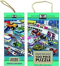 Crazy Car Race 100 Piece Puzzles (Green Start)