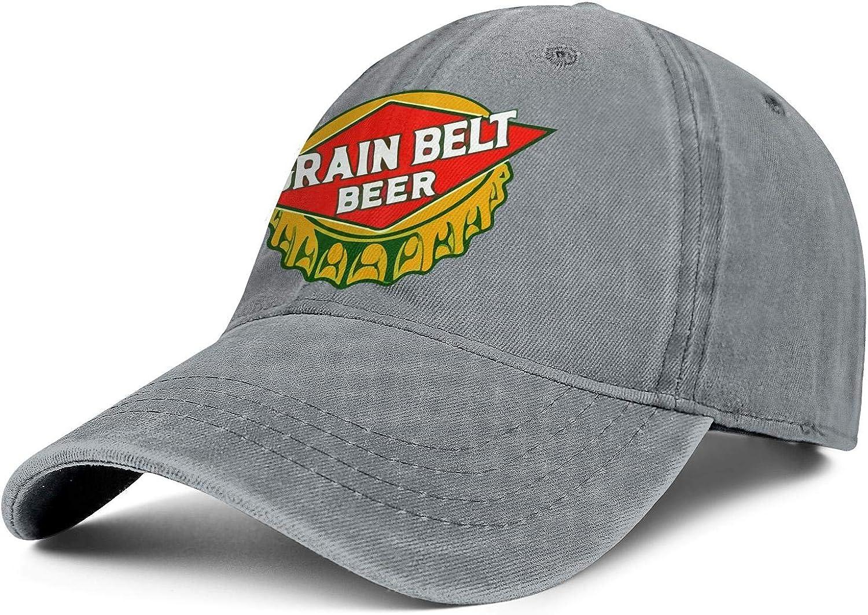 Mens Cowboy Cap Grain-Belt- Vintage Max 40% OFF Max 80% OFF Ha Trucker Washed Adjustable