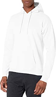 Hanes Men's Pullover Eco-Smart Fleece Hooded Sweatshirt