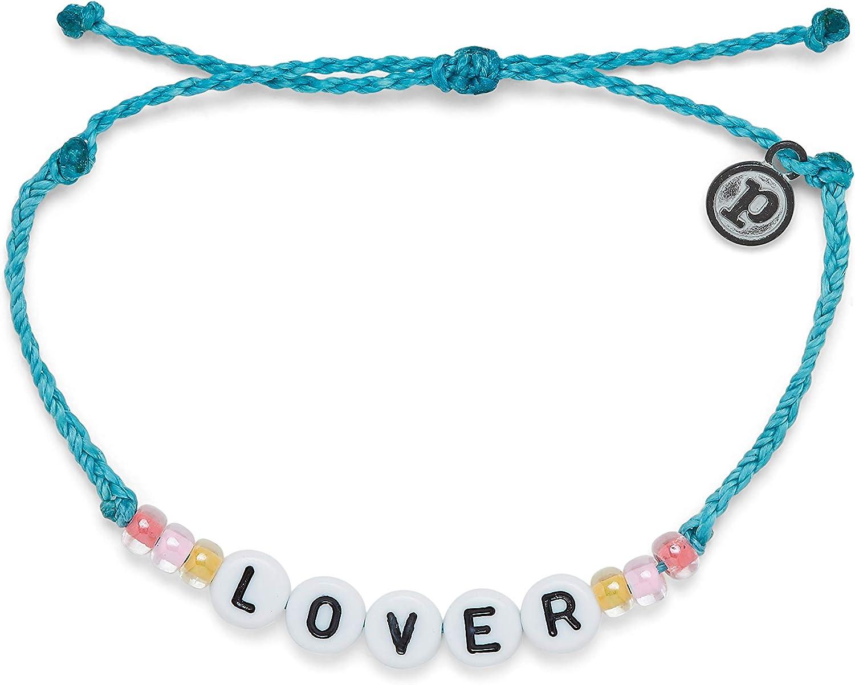 Pura Vida Sale item Lover Bracelet OFFicial site Alphabet Beed