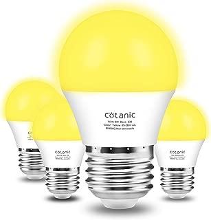 yellow porch light