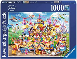 Ravensburger Ravensburger - Disney Carnival Characters Puzzle 1000pc Jigsaw Puzzle