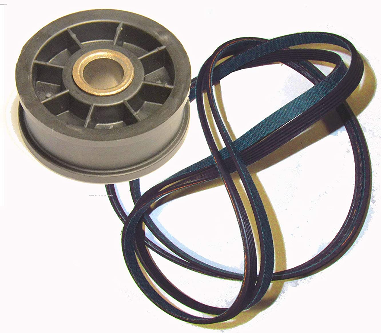 Dryer Belt and Idler Pulley Wheel that works with Amana NDE7800AYW