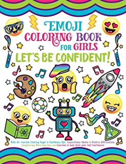 Emoji Coloring Book for Girls: Let's be Confident!