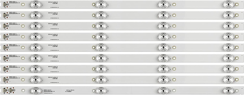 Replacement Part for TV 5set Our shop most popular 45pcs Lamps Max 40% OFF 4C-LB55 Backlight LED 4