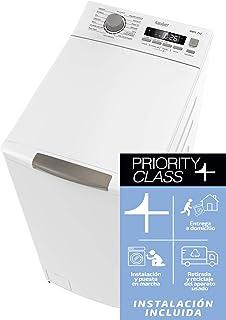 comprar comparacion Sauber - Lavadora de carga SUPERIOR WMTL712-7,5 kg - 1200 RPM - Eficiencia energética: A+++ - Color Blanco - Motor INVERTER