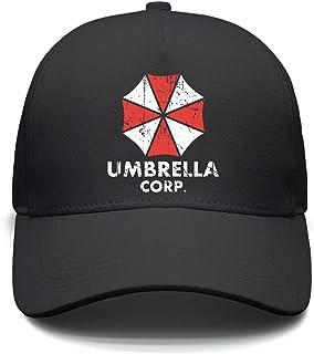 e52b5e412dbe26 FREE Shipping on eligible orders. Slimerland Unisex Umbrella-corp-Resident- Evil-2- Strapback Hat Sunscreen Cap